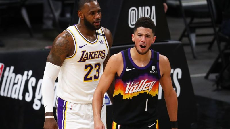 LeBron Avoids Suspension, Lakers Still Drop Game One To Suns