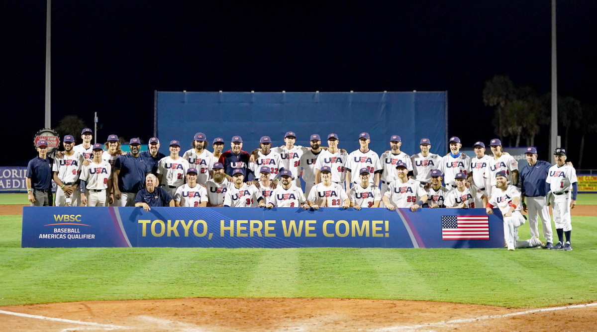 Team USA Looks To Medal In Baseball At The Olympics