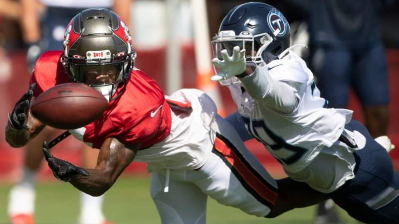 Bucs And Titans Wrap Up Two Days Of Joint Practice Sessions