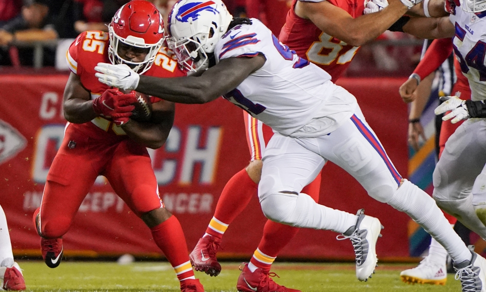 Three Chiefs Players That Trended Up And Down In Chiefs Versus Bills: Week Five