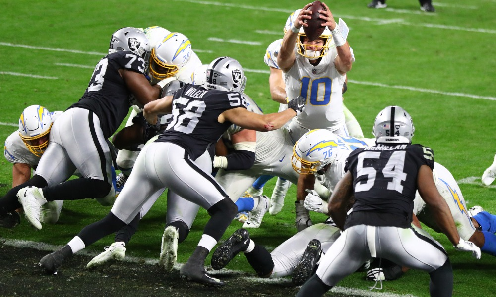 As The Raiders Head To LA Here Are Three Matchups To Watch