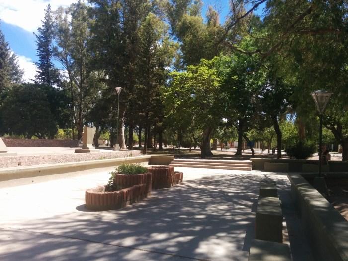 Barreal municipal park