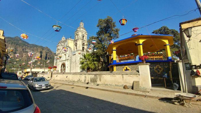 Church in Tepoztlan