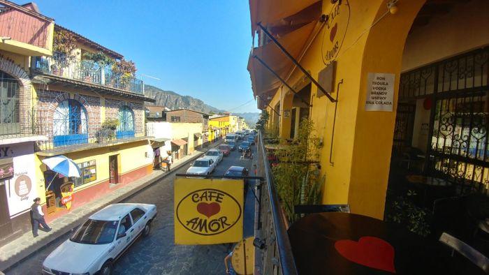 Cafe in Tepoztlan