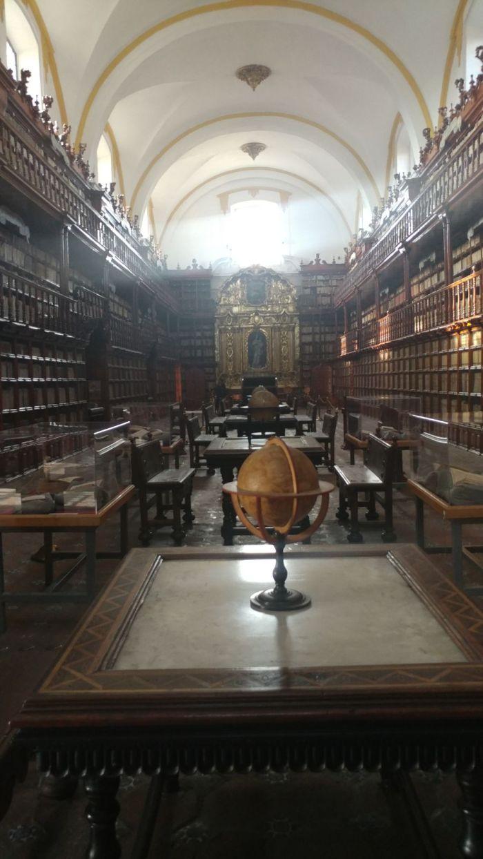 library in Puebla