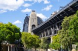 As you wander through the rocks you are gifted new and interesting views of the Harbour Bridge from angles you never expected to exist.
