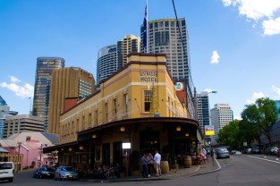 The Autralian Hotel which I found myself working at is obviously the best pub in Sydney so if you are there you have to go. With good food and better beer where else would you want to go.