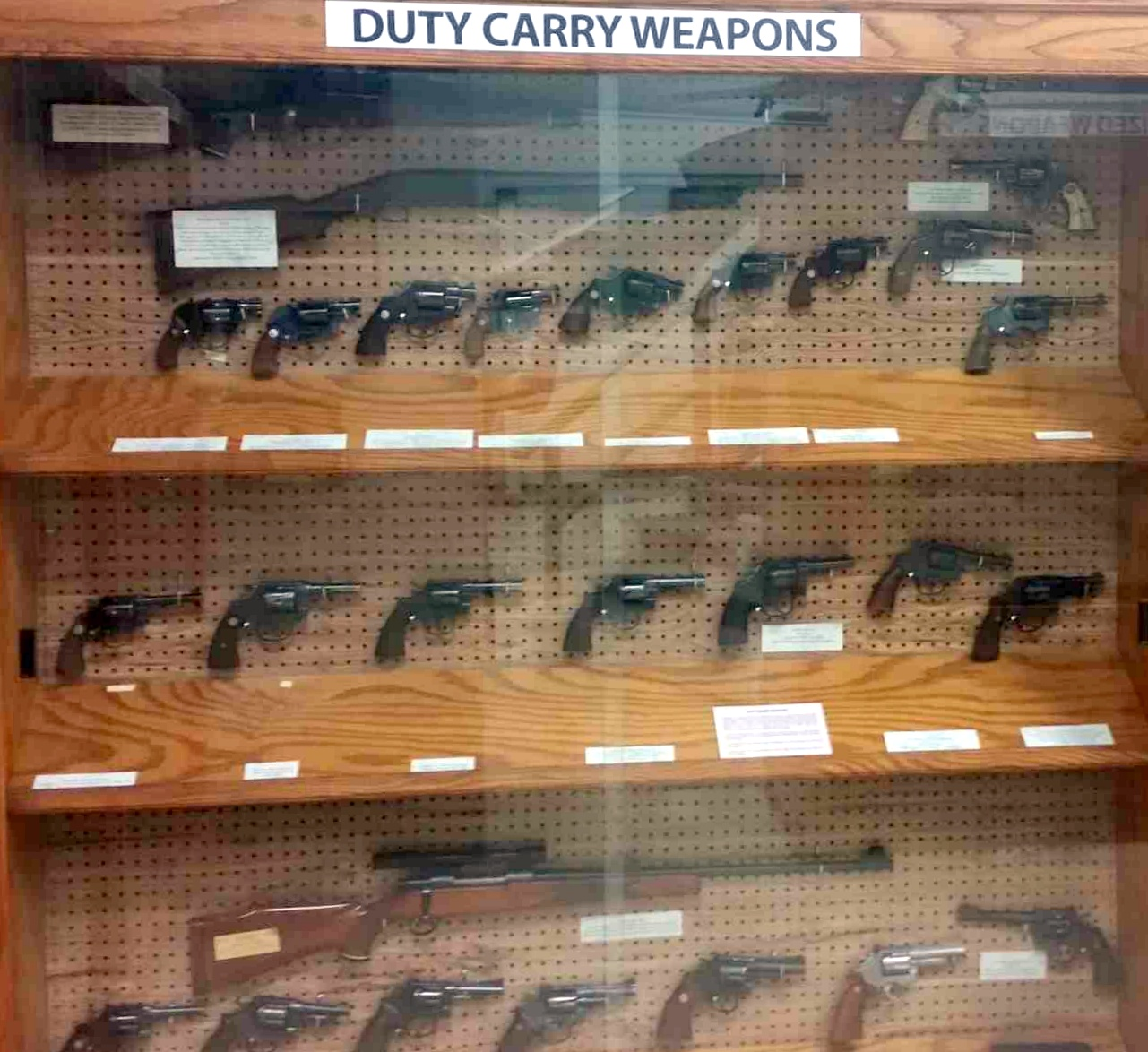 Duty Carry Weapons