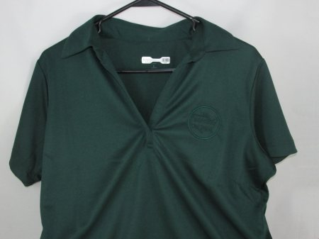 BP Ladies Polo/Dk.Grn.-L - Adult Clothing