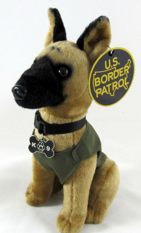 K9 Hero Plush-Brown - Toys