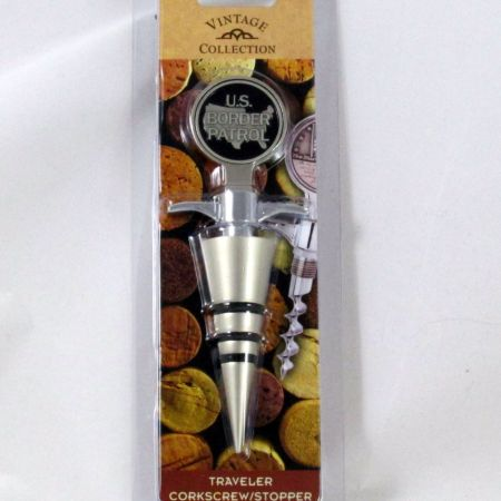 BP WINE CORKSCREW/STOPPER - Misc Gifts