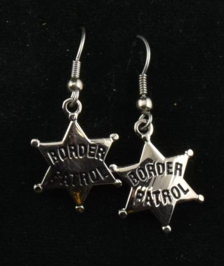 Silver Star Earrings - Jewelry
