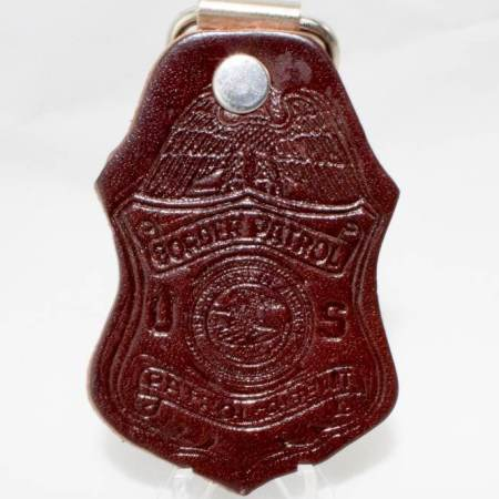 LEATHER KEY FOB-DOJ - Key Chains