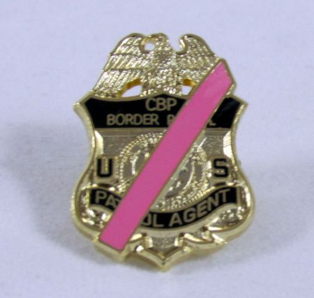 MOURNING BADGE-PINK - Pins / Charms