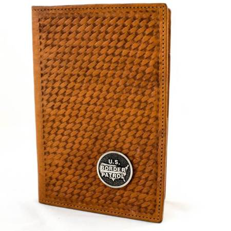 5X7 LEATHER NOTEPAD-ASST. - Leather Items