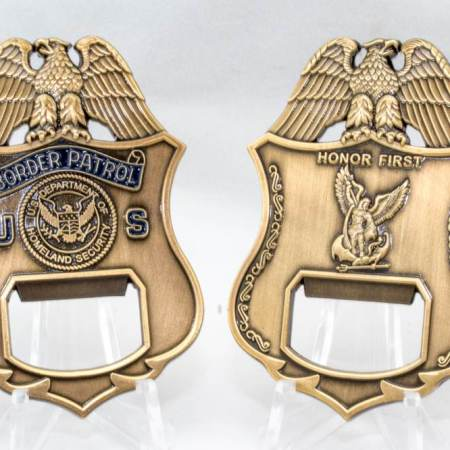 USBP BADGE BOTTLE OPENER-HF - Coins