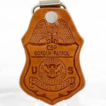 DOJ-LTHR.KEY FOB - Key Chains