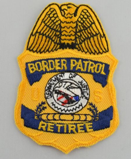 Retired Badge Patch - Patches / Decals