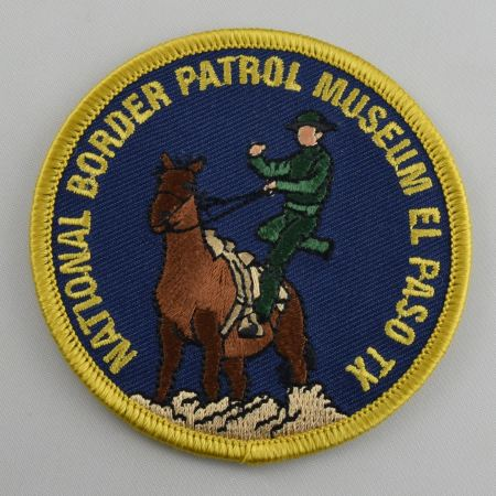 Ward and Lee Museum Patch Navy - Patches / Decals