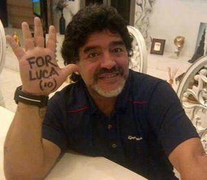 """Coppola habló sobre Maradona: """"Es un Diego auténtico"""""""