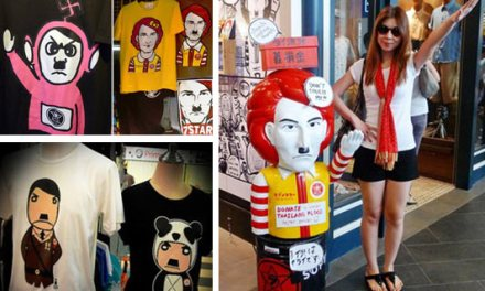 Increíble: en Tailandia se puso de moda Hitler