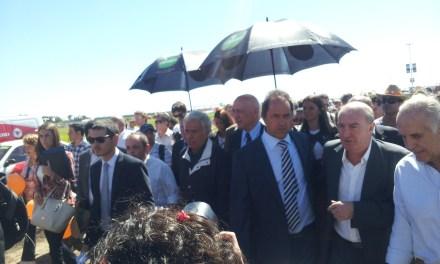 Expoagro: el despegue de Scioli, la bronca de Cristina