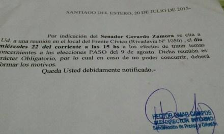 Arde Santiago: aprietes a los más humildes para que voten a Zamora