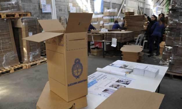Operativo electoral: se confirman las primeras medidas para evitar sospechas en octubre