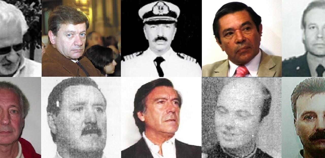 A 40 años del Golpe: los 10 represores más buscados por la Justicia