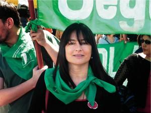 Estela Díaz, de la CTA.