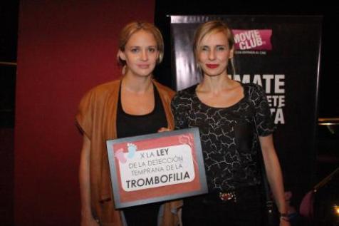 Actrices como Leonora Balcare y Julieta Cardinali apoyaron la aprobación de la ley.