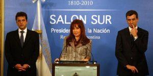 Otros tiempos. Ahora CFK enfrentará sus ex ministros, Massa y Randazzo.