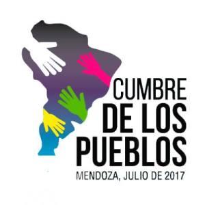 """El logo de la """"cumbre social""""."""
