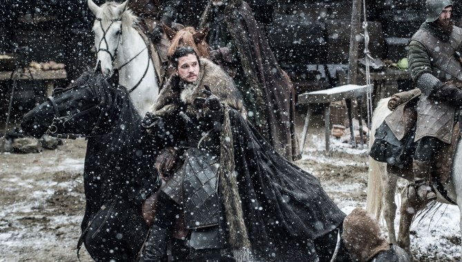 Game of Thrones TK Season 7, Episode TK Kit Harrington as Jon Snow