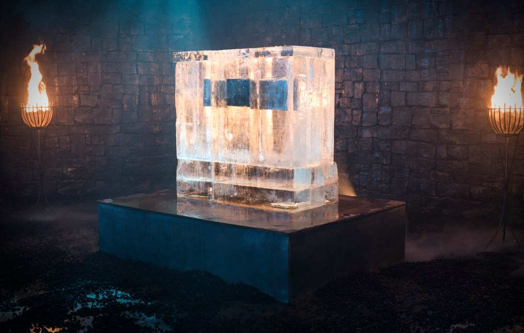 El hielo se derritió hasta que mostró la fecha de regreso de la serie.