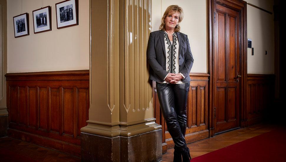 Pia Dijkstra, la diputada holandesa que impulsa la ampliación de la eutanasia para mayores sanos.