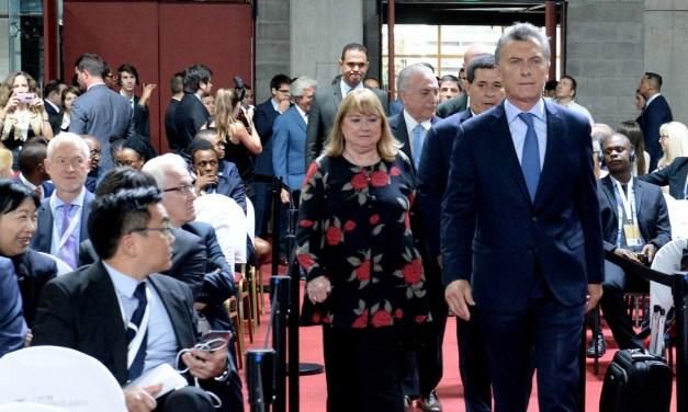 Desafío de Macri: procura recomponer la OMC y el G20, ante bríos proteccionistas