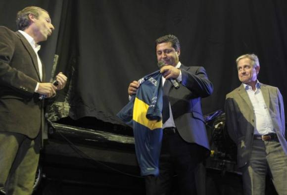Ibarra, detrás de Angelici. ¿Candidato en Boca?