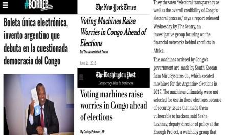 #VotoElectrónico: La nota de #BORDER llegó al New York Times y al Washington Post