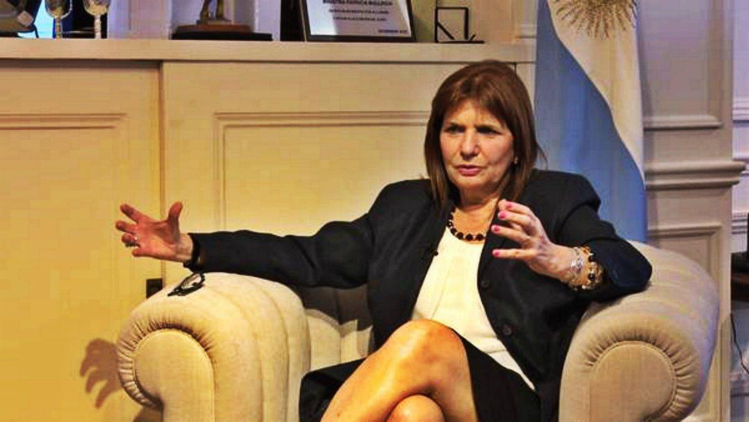 Patricia Bullrich fue ministra de Seguridad entre 2015 y 2019
