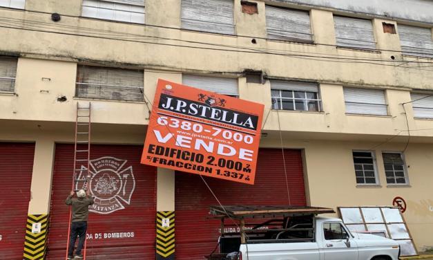 Bomberos de La Matanza pusieron en venta su cuartel por un embargo de la AFIP
