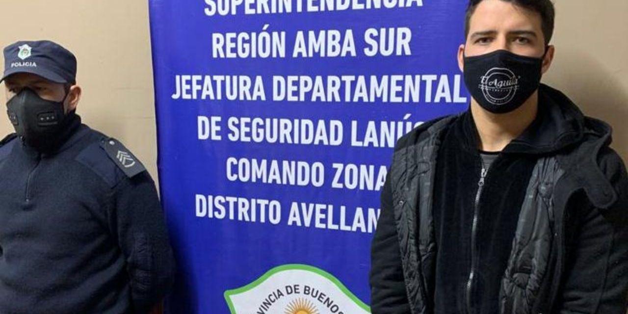 Detuvieron al futbolista Alexis Zárate, condenado por abuso sexual