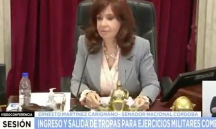 La chicana de Cristina Kirchner a Esteban Bullrich por su blooper viral: «¿Dónde está?»