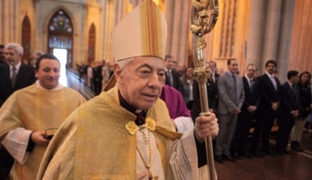 Monseñor Héctor Aguer se retiró en 2018. Su perfil siempre chocó con el de Bergoglio