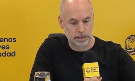 Horacio Rodríguez Larreta anunció la apertura de nuevas actividades