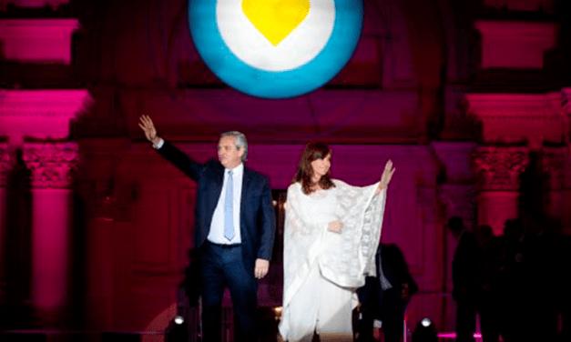 Cristina criticó fuertemente a la justicia en su balance del primer año de gestion