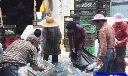 Es argentina y lideró una innovadora ONG que recoleta latas y botellas en Brooklyn