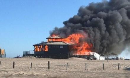 Pinamar: por qué se produjo el incendio en el parador de La Frontera y cómo quedó el lugar