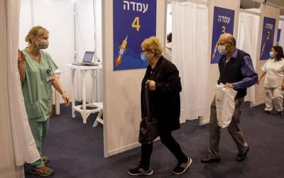 Israel: la vacuna contra el Covid-19 disminuyó los contagios en un 50%