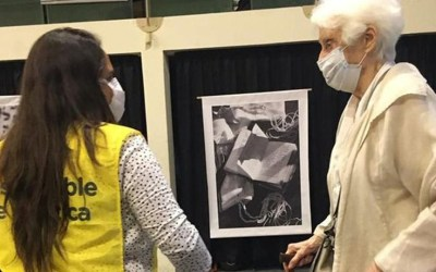Graciela Fernández Meijide se vacunó contra el COVID-19: sacó turno e hizo la fila